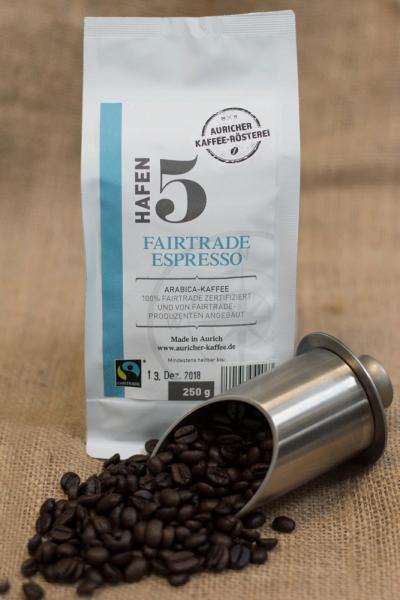 Fairtrade Espresso - fair gehandelt & biologisch angebaut